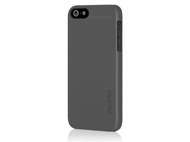 Apple iPhone 5 INCIPIO Feather Ultra-thin Case Rubberized Soft Touch (Grey)