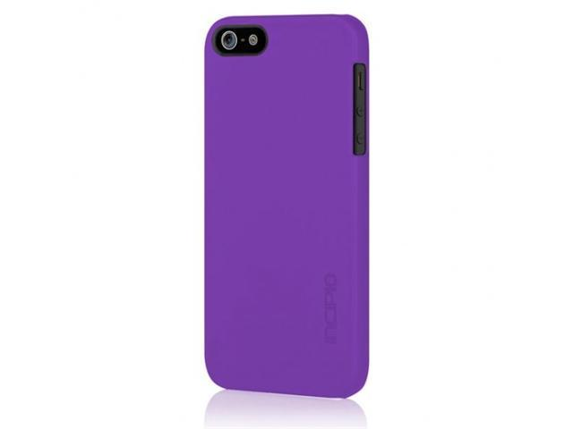 Apple iPhone 5 INCIPIO Feather Ultra-thin Case Rubberized Soft Touch (Purple)