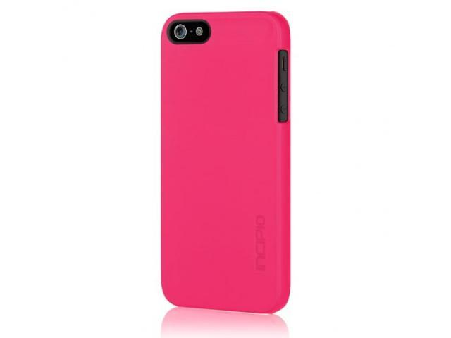Apple iPhone 5 INCIPIO Feather Ultra-thin Case Rubberized Soft Touch (Pink)