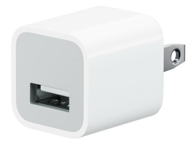 Apple OEM USB Power Adapter MB352LL/B (White)