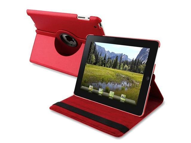 Fosmon Revolving Leather Case for Apple iPad 2