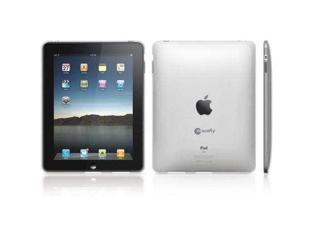 Macally Clear Flexible Protective Case For Apple iPad 1st Gen