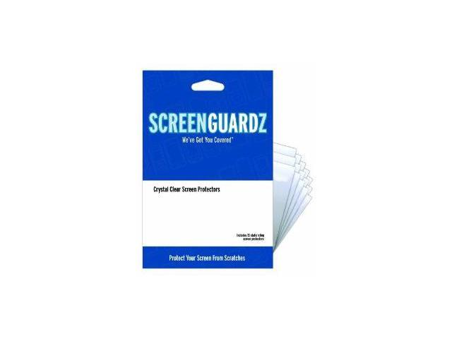 NLU ScreenGuardz Ultra-Slim Screen Protector for Samsung Mythic A897 - Clear