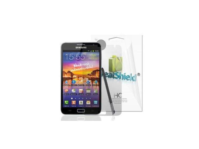 GreatShield Ultra Smooth Clear Screen Protector Film for Samsung GALAXY Note N7000 (International Version) (3 Pack)