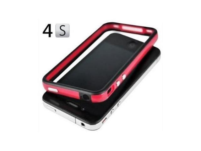 Fosmon 2 Tone Bumper Case for Apple iPhone 4/4S