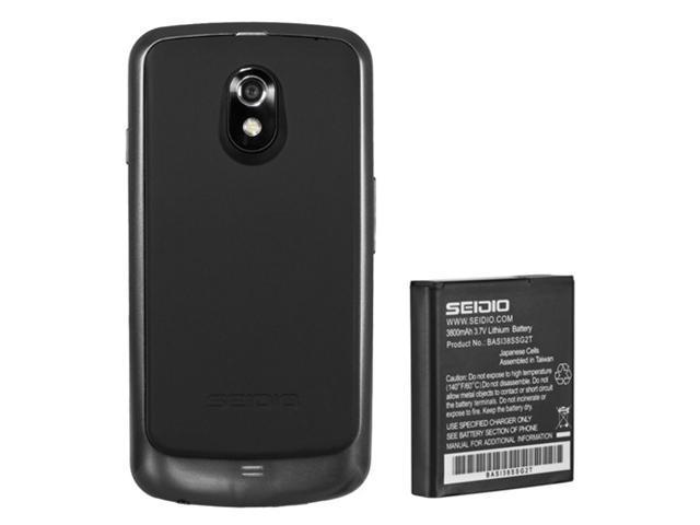Seidio Samsung Galaxy Nexus LTE Innocell 3800mAh Super Extended Life Battery - LTE (w/NFC)