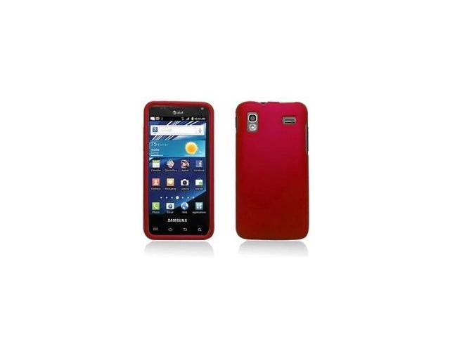 Fosmon Snap On Rubberized Hard Protector Case Cover for Samsung Glide SGH-i927