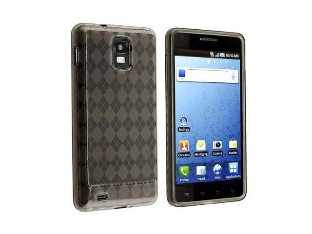 Fosmon TPU Skin Cover for Samsung Infuse 4G i997, Argyle Smoke