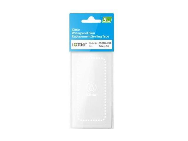 iOttie Waterproof Skin Replacement Sealing Tape for Samsung Galaxy S II (5Pack) - Retail Packaging
