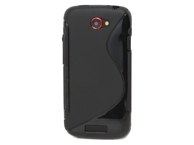 Fosmon S-Curve TPU Case for HTC One S / Ville