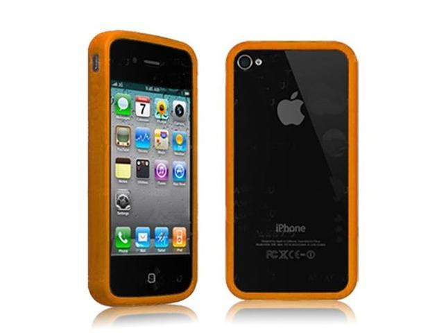 Fosmon TPU Protective Bumper Case for AT&T Apple iPhone 4