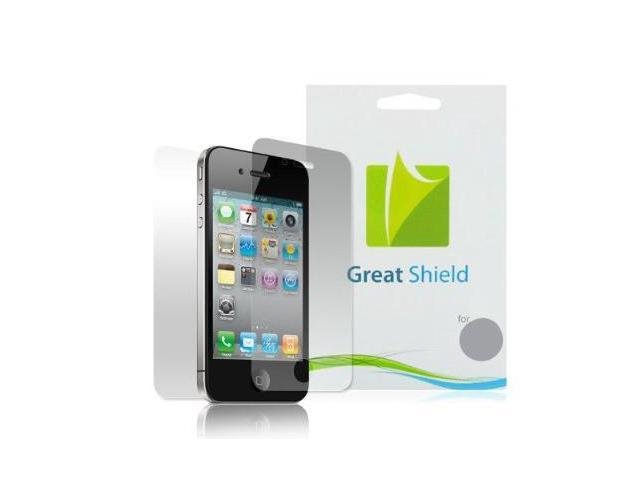 GreatShield Ultra Smooth Clear Screen Protector Film for Apple iPhone 4 / iPhone 4S AT&T, Verizon, Sprint Version (3-Pack ...