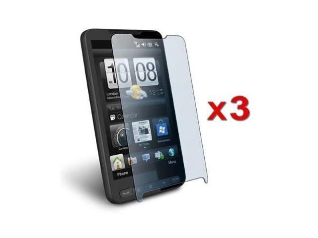 3 Pack of Durable Screen Protector LCD Guard For HTC HD2 by Fosmon