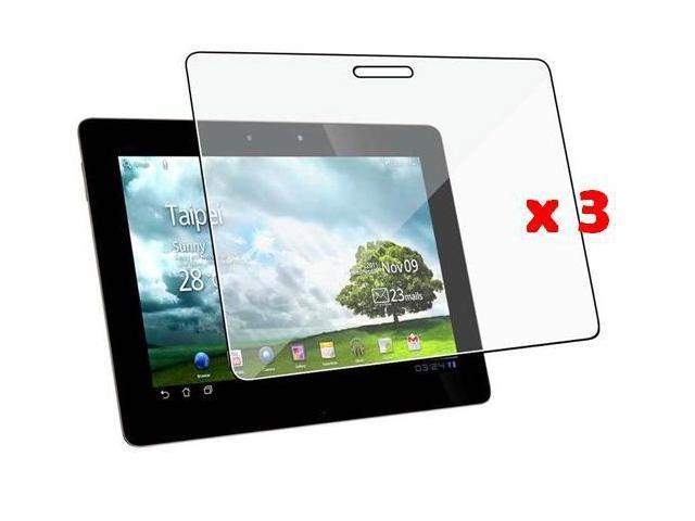Fosmon Crystal Clear Screen Protector Shield for Asus Transformer Prime TF201 - 3 Pack