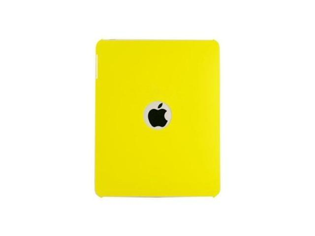 Fosmon Premium Quality Snap On Hard Rubberized Protective Cover Case for Apple iPad 1st Gen- Yellow