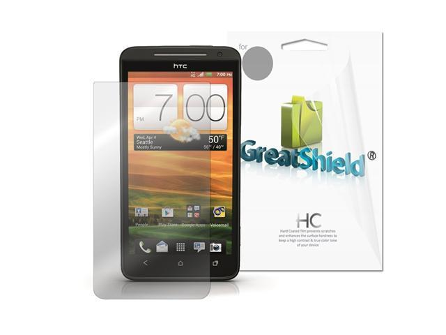 GreatShield Ultra Smooth Clear Screen Protector Film for HTC Evo 4G LTE (3 Pack)