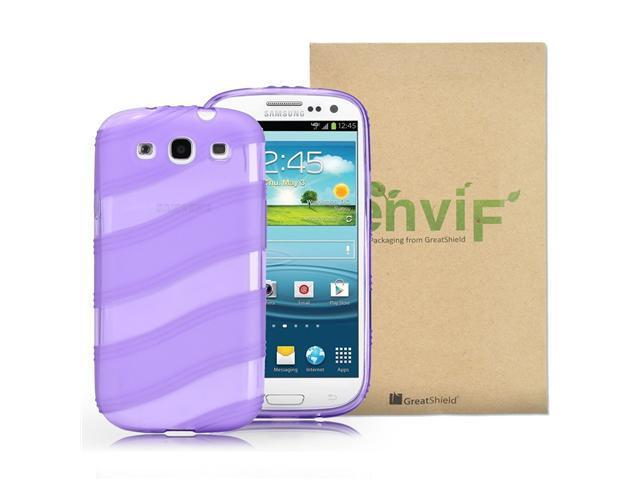 GreatShield Guardian S Series Slim-Fit Wave Design TPU Case for Samsung Galaxy S3 S III