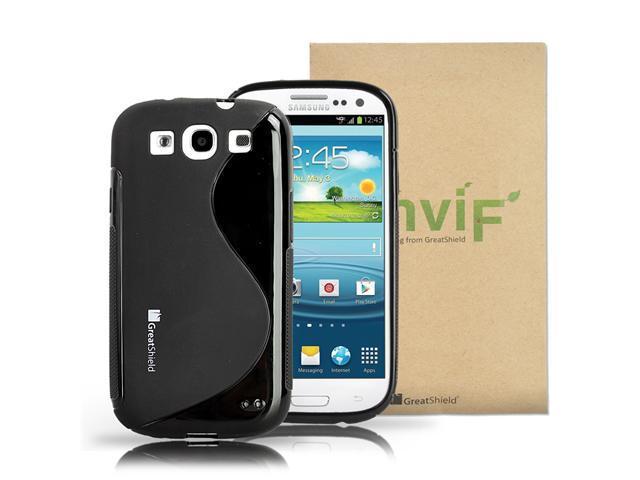 GreatShield S Shape TPU Case for Samsung Galaxy S III i9300 / ATT SGH-i747 / Verizon SGH-i535 / T-mobile SGH-T999 / Sprint ...