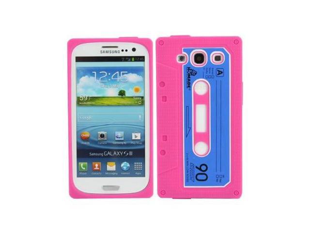 Fosmon Retro Soft Silicone Cassette Case for the Samsung Galaxy S3 / S III