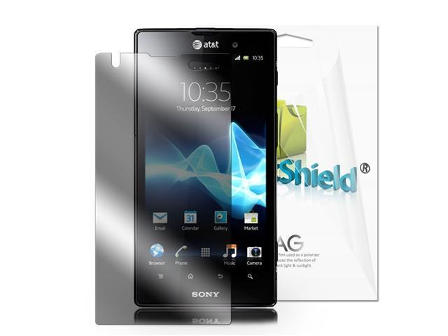 GreatShield Ultra Anti-Glare (Matte) Clear Screen Protector Film for Sony Xperia ion - 3 Pack