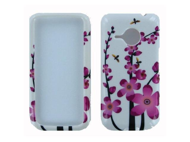 Spring Flowers Design Snap-On Hard Case for HTC Droid Eris by Fosmon