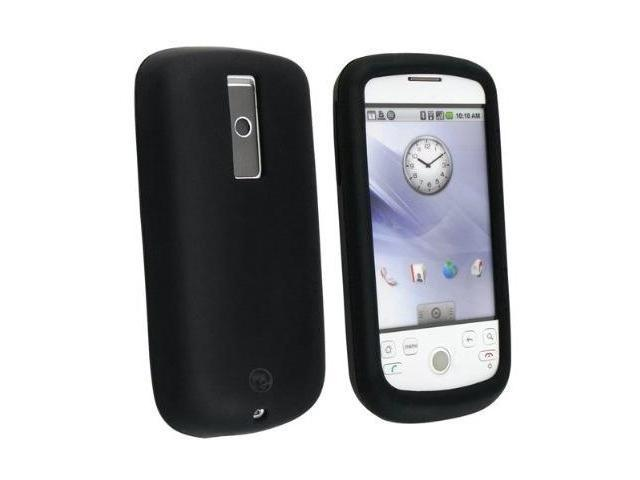 Black Soft Silicone Case + USB Data Cable + USB Car Charger + Coffee Mug for T-Mobile My Touch 3G