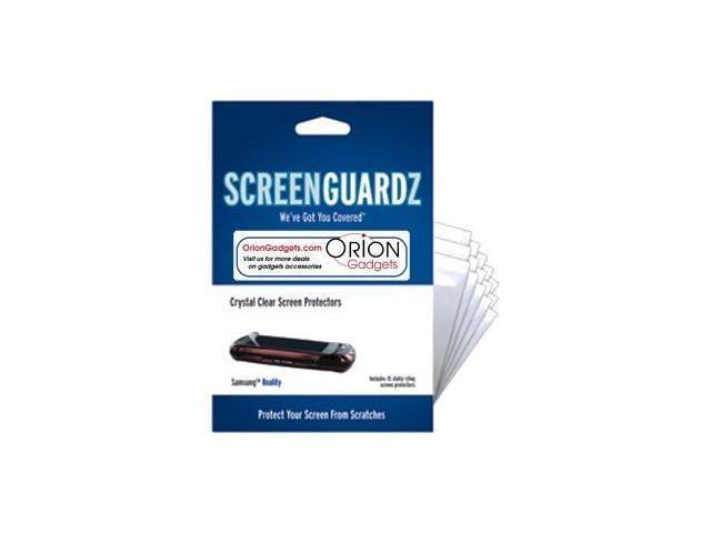 NLU ScreenGuardz Crystal Clear Screen Protector for Samsung Reality U820 - 15 Pack