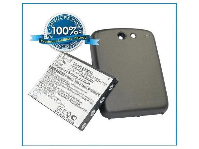 2400mAh Li-ion Extended Battery with door for HTC Google Nexus One, Google G5 by Fosmon