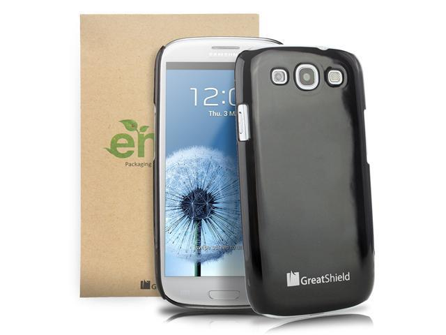 GreatShield Guardian UV Series Slim Fit Snap On Hard Protector Case for Samsung Galaxy S3 S III
