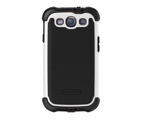 Ballistic SX0932-M385 MAXX Case with Holster for Samsung Galaxy S3 - Black/White