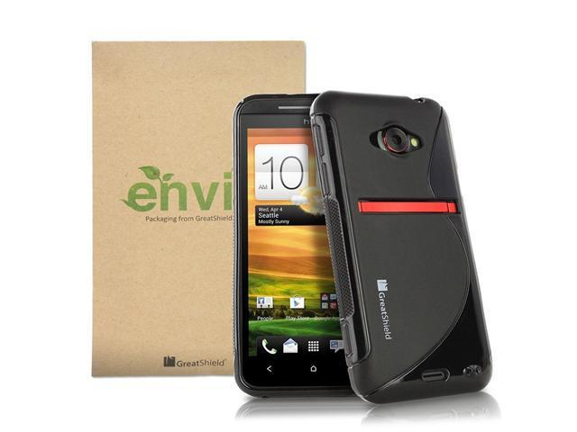 GreatShield Guardian S Series Slim Fit S-Line Design TPU Case for HTC EVO 4G LTE