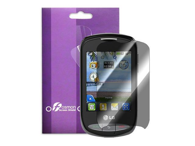 Fosmon Crystal Clear Screen Protector Shield for the LG 800G - 1 Pack