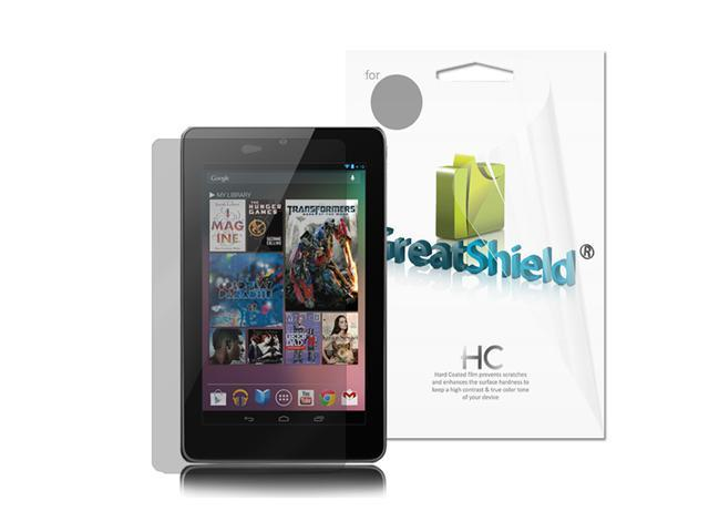 GreatShield 3 Pack Crystal Clear Screen Protector Guard Film for Google Nexus 7