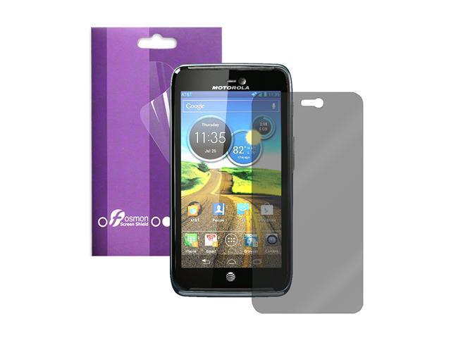 Fosmon 1 Pack Anti-Glare Screen Protector for Motorola Atrix 3 HD LTE MB886