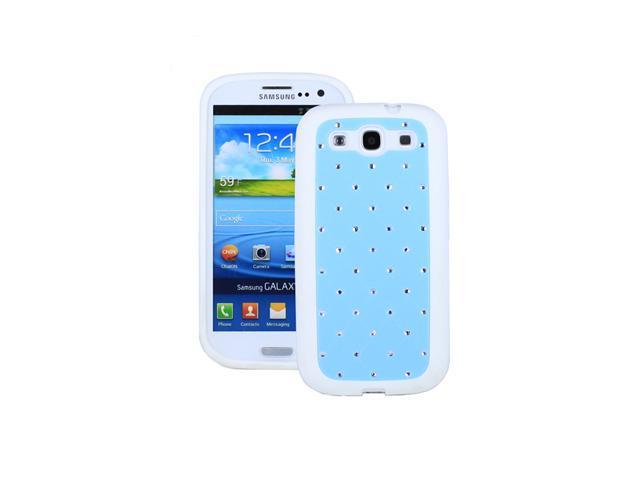 Fosmon TPU + PC + PU + Diamond for Samsung Galaxy S III i9300 / ATT SGH-i747 / Verizon SGH-i535 / T-mobile SGH-T999 / Sprint SPH-L710