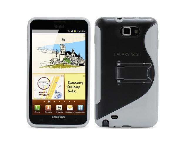 Fosmon PC TPU Hybrid Gel Case Cover Skin for Samsung Galaxy Note N7000