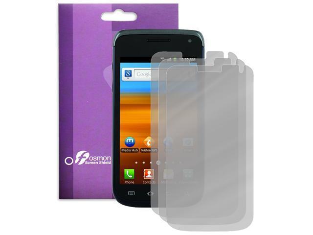 Fosmon 3 Pack Anti-Glare Screen Protector Guard for Samsung Exhibit II 4G
