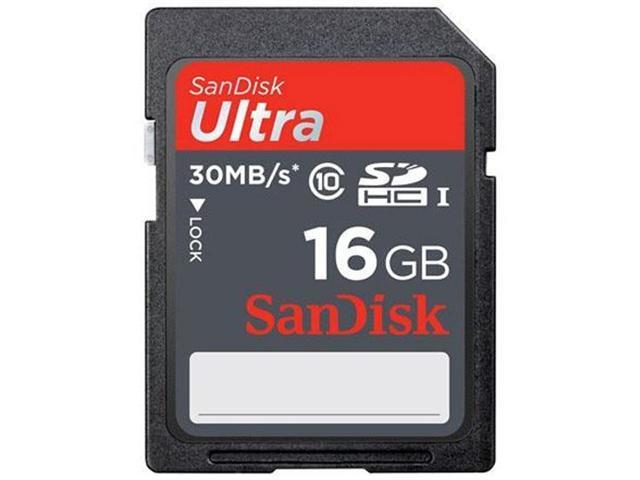 SanDisk Ultra 16 GB Secure Digital High Capacity (SDHC)