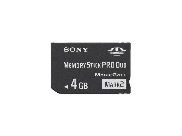 Sony 4GB Memory Stick/Card PRO DUO