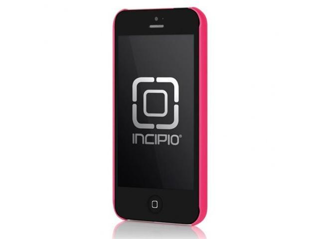 Incipio - Ultralight Feather Shell Case Case for Apple iPhone 5  Cell Phones - Pink