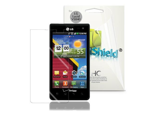 GreatShield 3 Pack Screen Protector Guard Shield Film for LG Lucid VS840