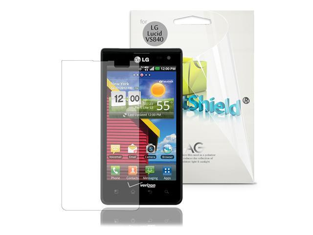 GreatShield 3 Pack Anti-Glare Screen Protector Shield Guard for LG Lucid VS840