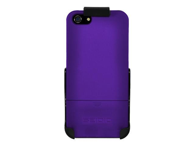 Seidio Surface Case w/ Holster Combo for Apple iPhone 5 - Purple