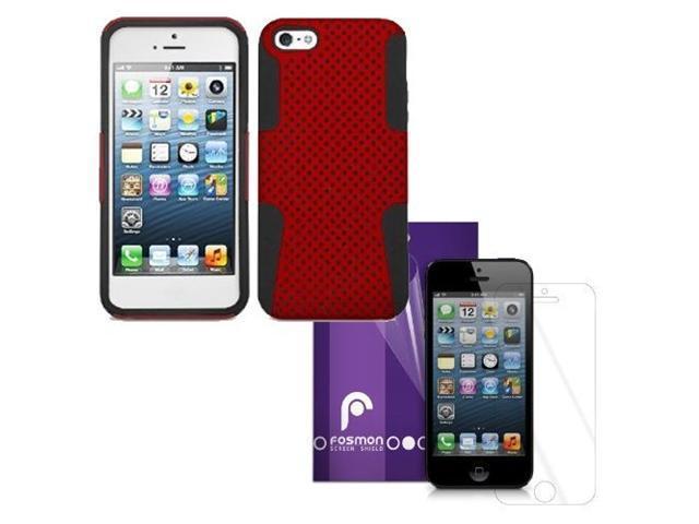 Fosmon 4 in 1 Bundle for Apple iPhone 5