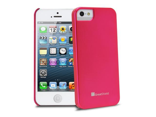 GreatShield Guardian Series UV Coating Case for iPhone 5/5S - Pink