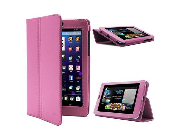 GreatShield TOME Series Ultra Slim Leather Case with Multi Angle Stand and Sleep Wake Function for Google Nexus 7 Tablet