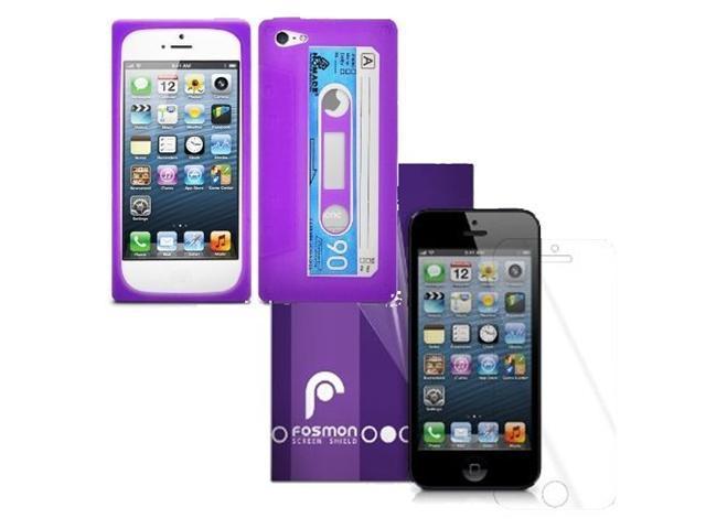 Fosmon 2 in 1 Bundle for Apple iPhone 5