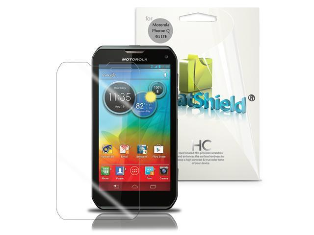 GreatShield 3 Pack Screen Protector Shield for Motorola Photon Q 4G LTE - Clear