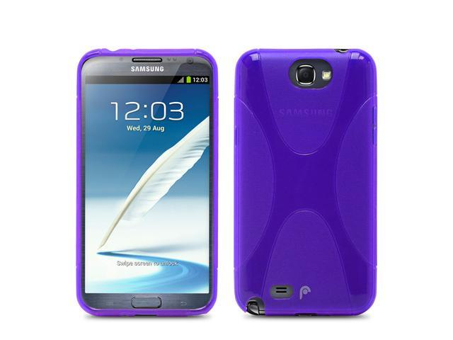Fosmon DURA X Series TPU Case for Samsung Galaxy Note 2 II / N7100 - Purple