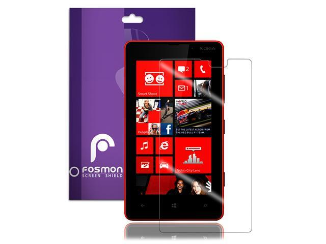 Fosmon 1 Pack Screen Protector Guard Shield for Nokia Lumia 820 - Crystal Clear